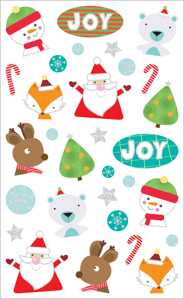 Christmas Joy, Reflections Stickers