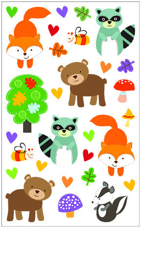 Forest Pals, sticker, Mrs. Grossman's stickers