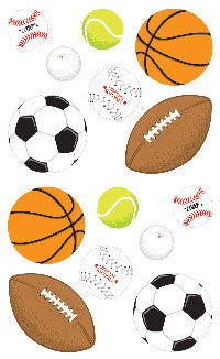 Sports, stickers, Mrs. Grossman's Sticker Factory