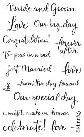 Captions, Wedding Stickers - Mrs. Grossman's