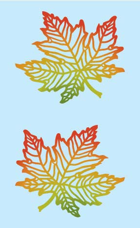 Maple Leaf, Large