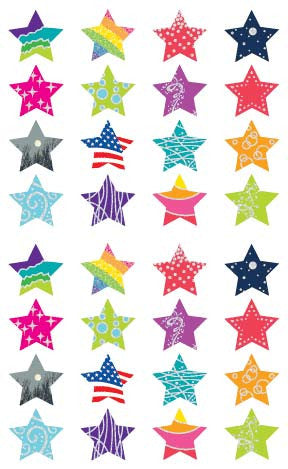 Star Struck, Reflections Stickers - Mrs. Grossman's