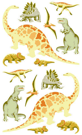 Dinosaurs, sticker, Mrs. Grossman's Stickers