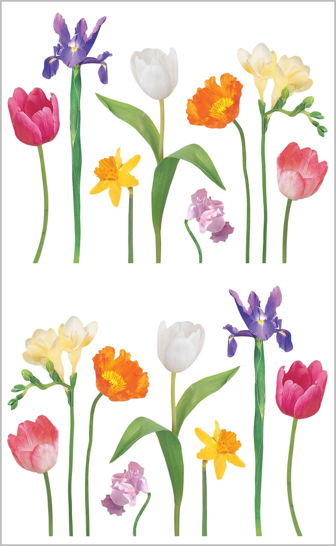 Spring Stems Stickers