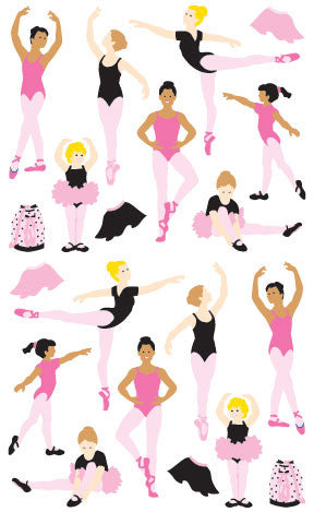 Ballet, sticker, Mrs. Grossman's Stickers