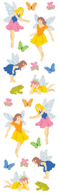 Fairies, Sparkle, sticker, Mrs. Grossman's Stickers