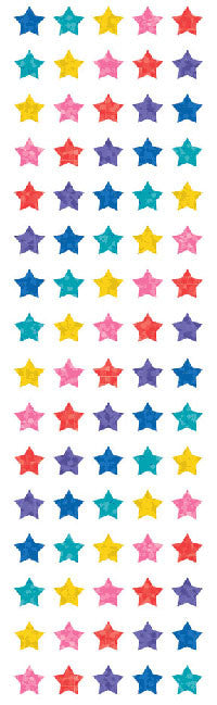 Multi Micro Stars, stickers, Mrs. Grossman's Sticker Factory