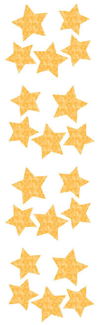 Stars, gold sm, stickers, Mrs. Grossman's Sticker Factory