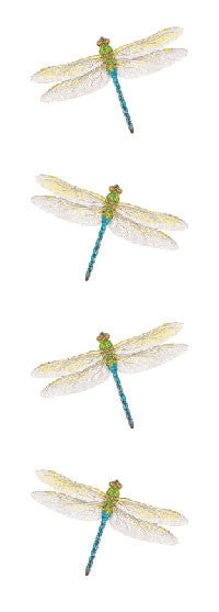 Dragonfly, sticker, Mrs. Grossman's Stickers