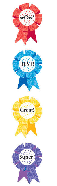 Award Ribbon, Sparkle Stickers - Mrs. Grossman's