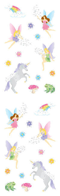 Fantasy, petite, sticker, Mrs. Grossman's Stickers