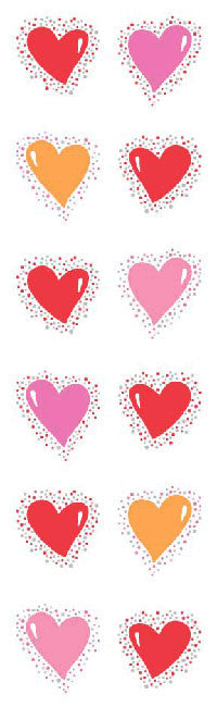 Twinkle Hearts, stickers, Mrs. Grossman's Sticker Factory