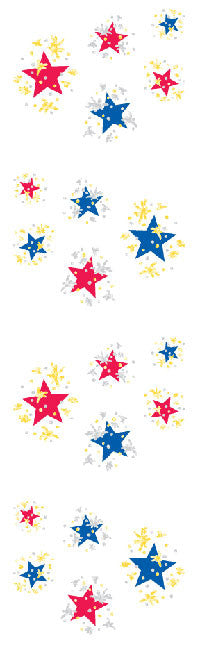 Twinkle Stars, stickers, Mrs. Grossman's Sticker Factory