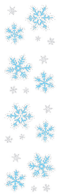 Icy Snowflakes, Reflections Stickers - Mrs. Grossman's