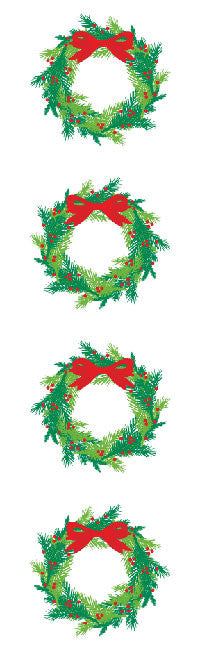 Bright Wreath, Reflections Stickers - Mrs. Grossman's