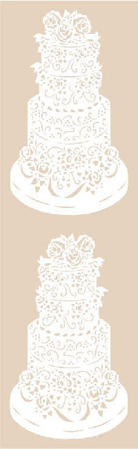 Wedding Cake , stickers, Mrs. Grossman's Sticker Factory