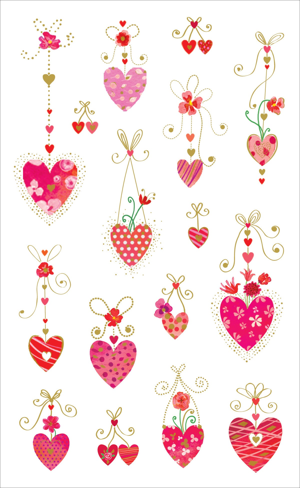 Turnowsky Hanging Hearts