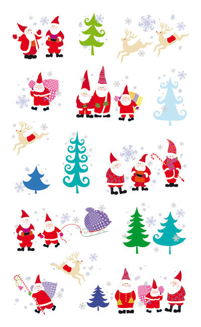 Turnowsky Santa's Little Helpers, Reflections Stickers - Mrs. Grossman's