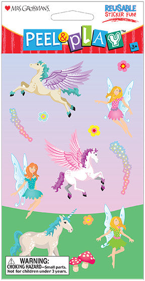"Peel & Play 4"" Strip-Fairies Stickers - Mrs. Grossman's"