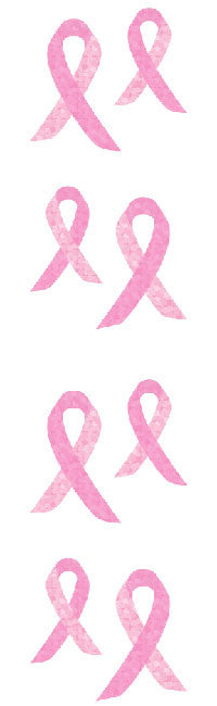 Pink Awareness Ribbon Stickers - Mrs. Grossman's
