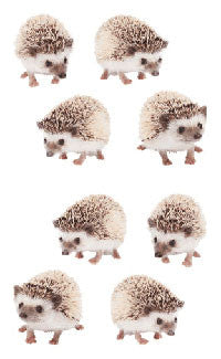 Hedgehogs, sticker, Mrs. Grossman's stickers