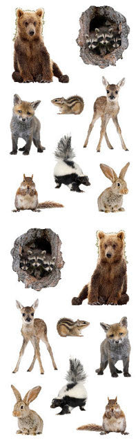 Baby Woodland Animals Stickers - Mrs. Grossman's