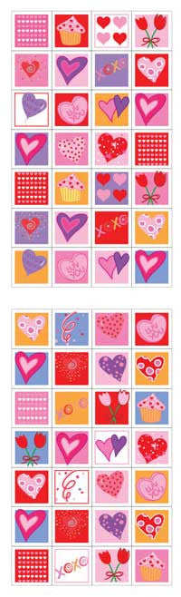 Love Blocks Stickers - Mrs. Grossman's