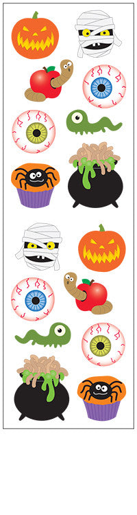 creepy creatures, sticker, Mrs. Grossman's Stickers