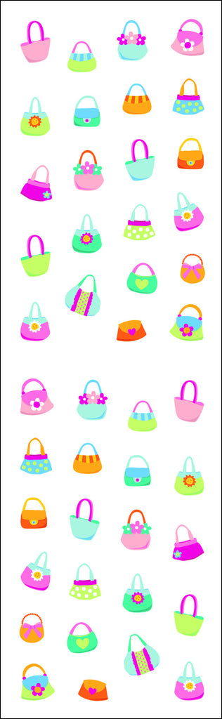 Purses, stickers, Mrs. Grossman's Sticker Factory