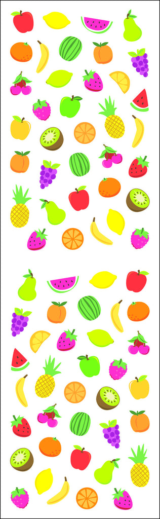 Fruit, sticker, Mrs. Grossman's Stickers