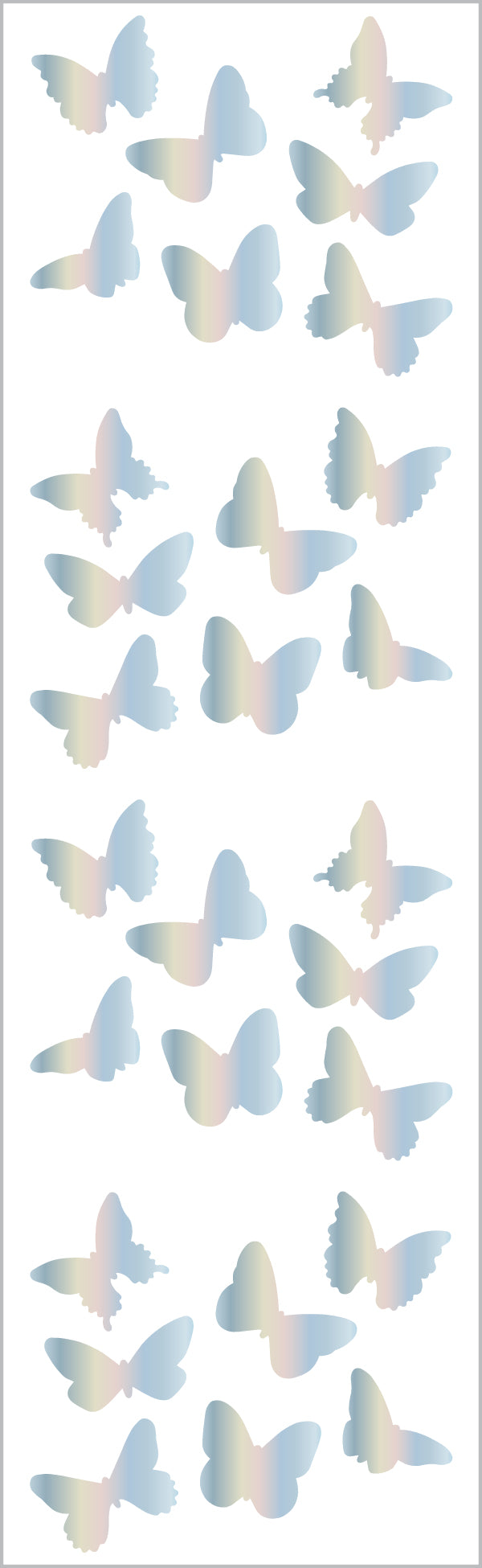 Holographic Butterflies - Mrs. Grossman's