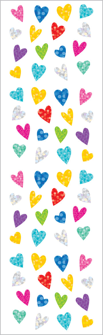 Limited Edition Tiny Sparkle Hearts - Mrs. Grossman's