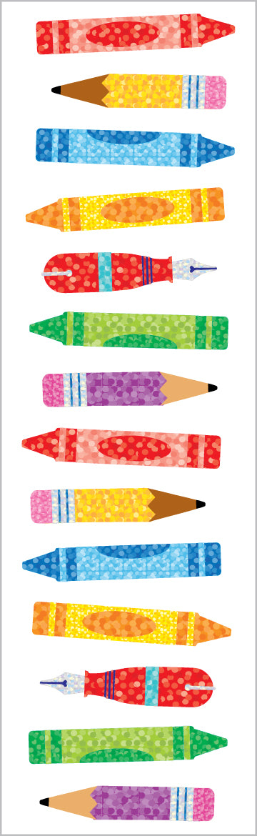 Limited Edition Pencils & Pens, Sparkle - Mrs. Grossman's