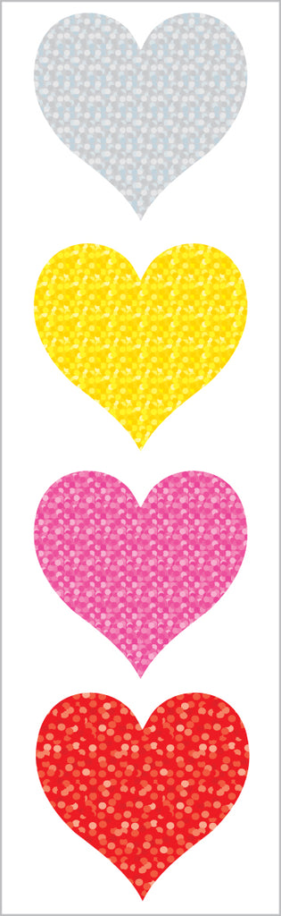 Limited Edition Sparkle Hearts, Large - Mrs. Grossman's