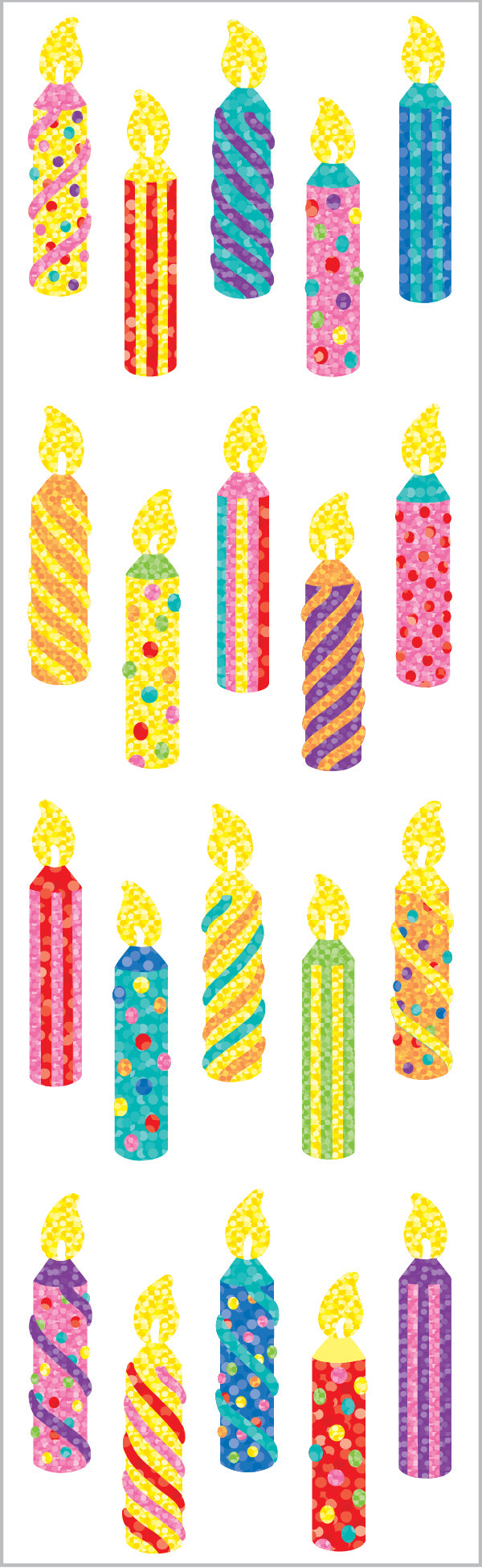 Limited Edition Birthday Candles