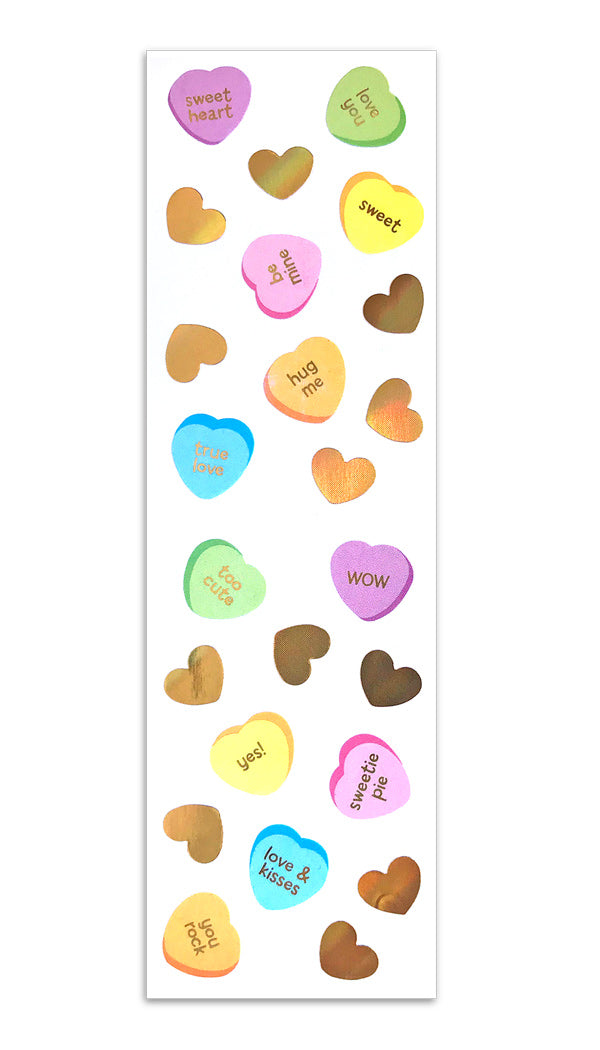 Limited Edition Candy Hearts - Mrs. Grossman's