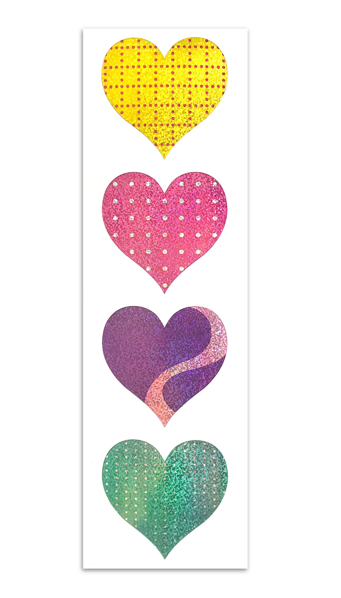 Limited Edition Patterned Hearts