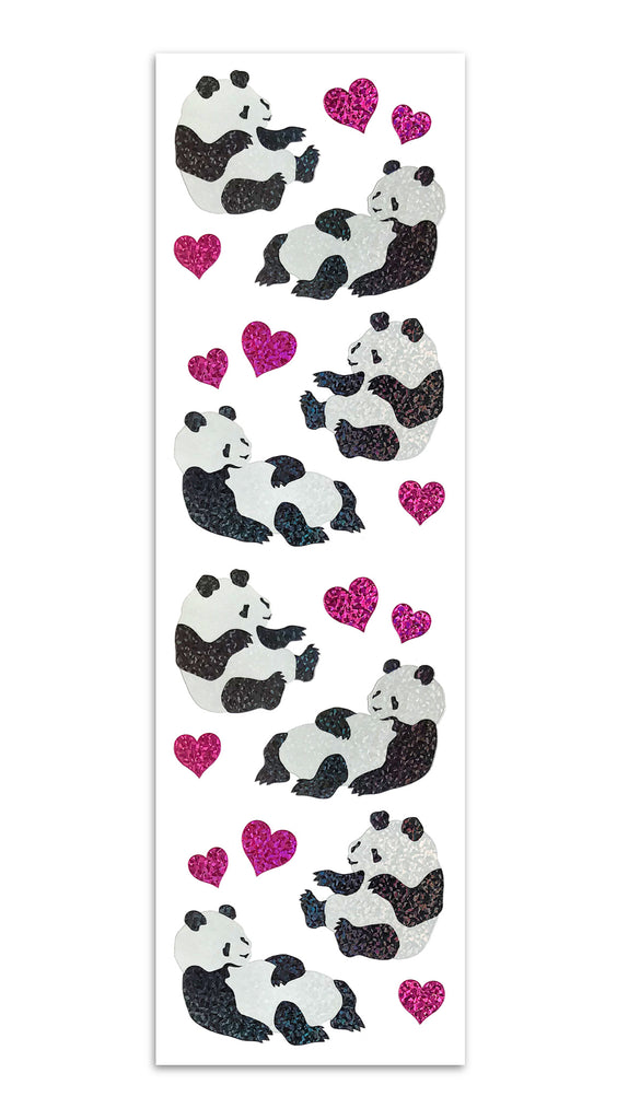 Limited Edition Pandas and Hearts