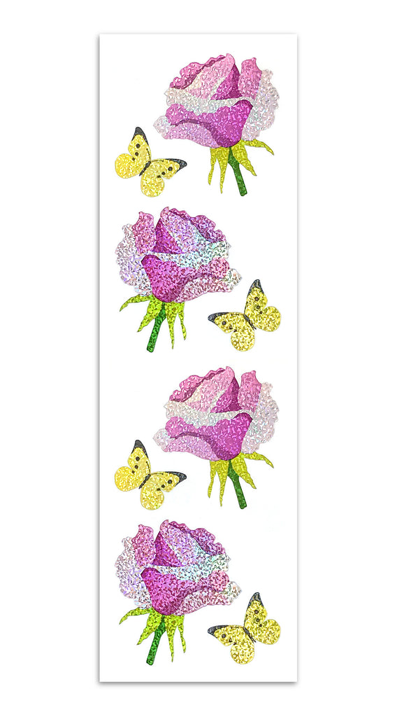 Limited Edition Rose and Butterfly