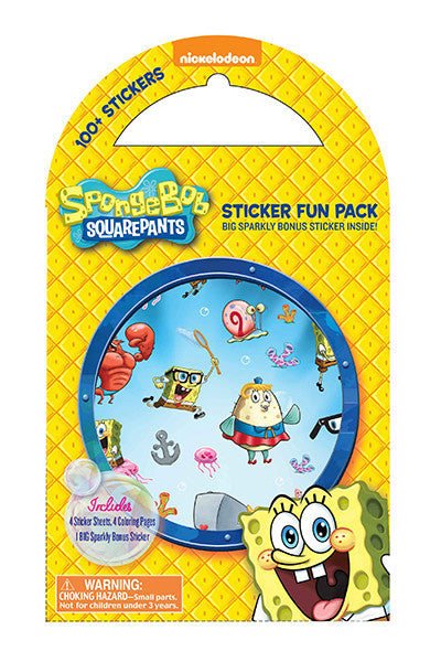 SpongeBob Sticker Fun Pack