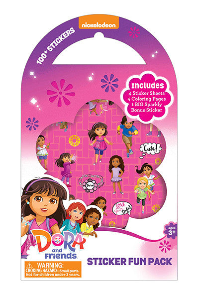 Dora Sticker Pack, sticker, Mrs. Grossman's Stickers