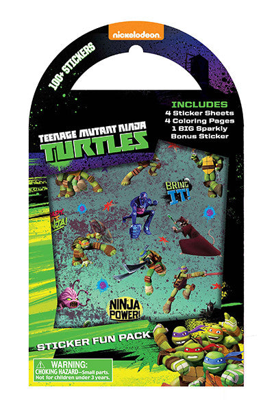 Teenage Mutant Ninja Turtle Sticker Fun Pack