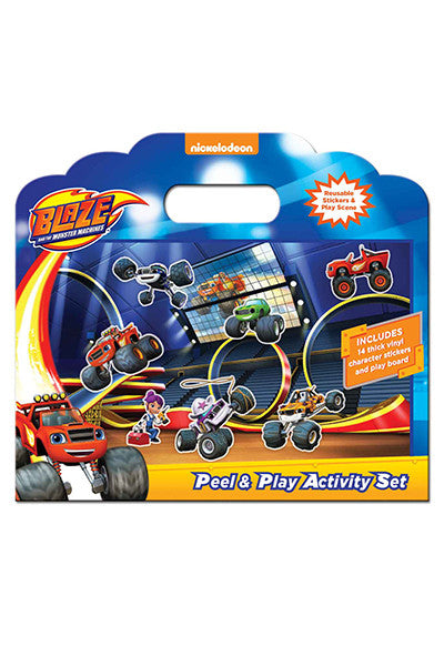 Blaze Peel and Play Activity Set