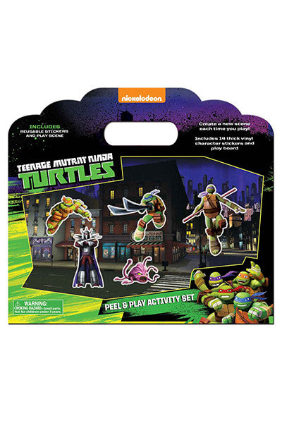 Teenage Mutant Ninja Turtle Peel & Play Activity Set