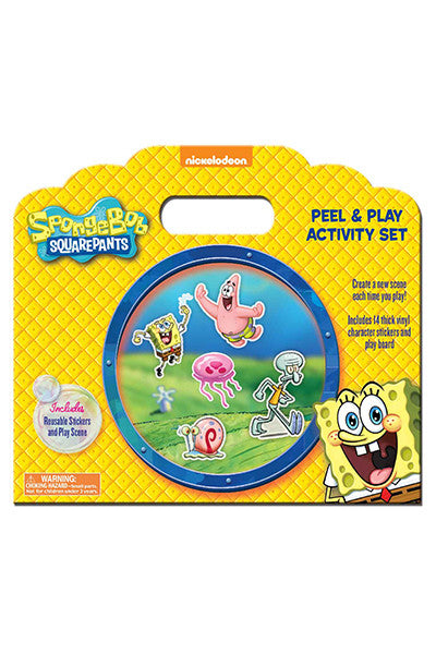 SpongeBob Peel and Play Activity Set