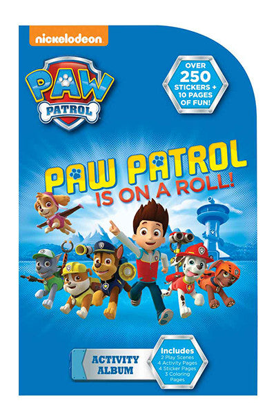Paw patrol activity album, sticker, Mrs. Grossman's Stickers