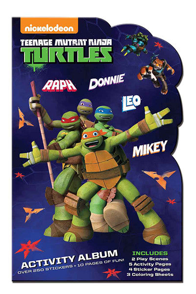 TMNT, stickers, Mrs. Grossman's Sticker Factory