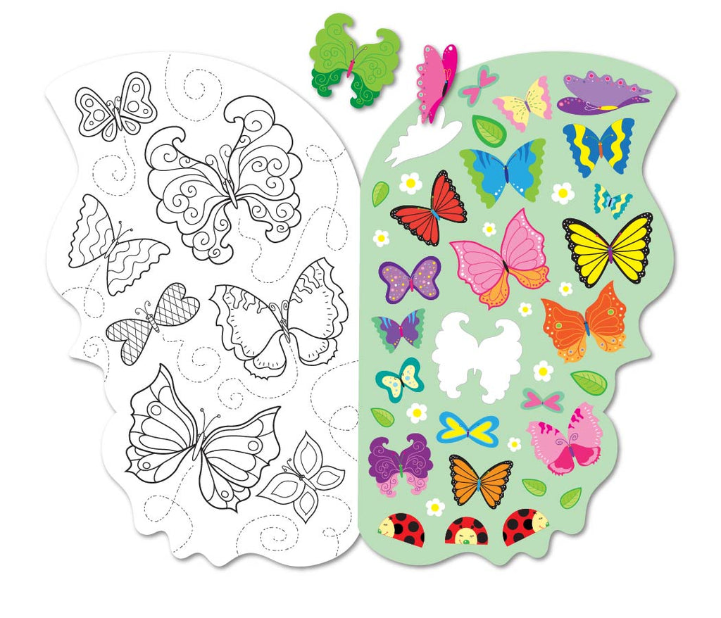Butterfly Sticker Activity Book - Mrs. Grossman's