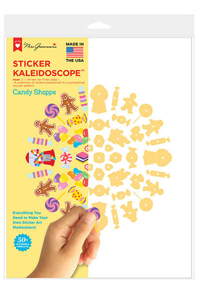 Candy Shoppe Kaleidoscope, sticker, Mrs. Grossman's Stickers