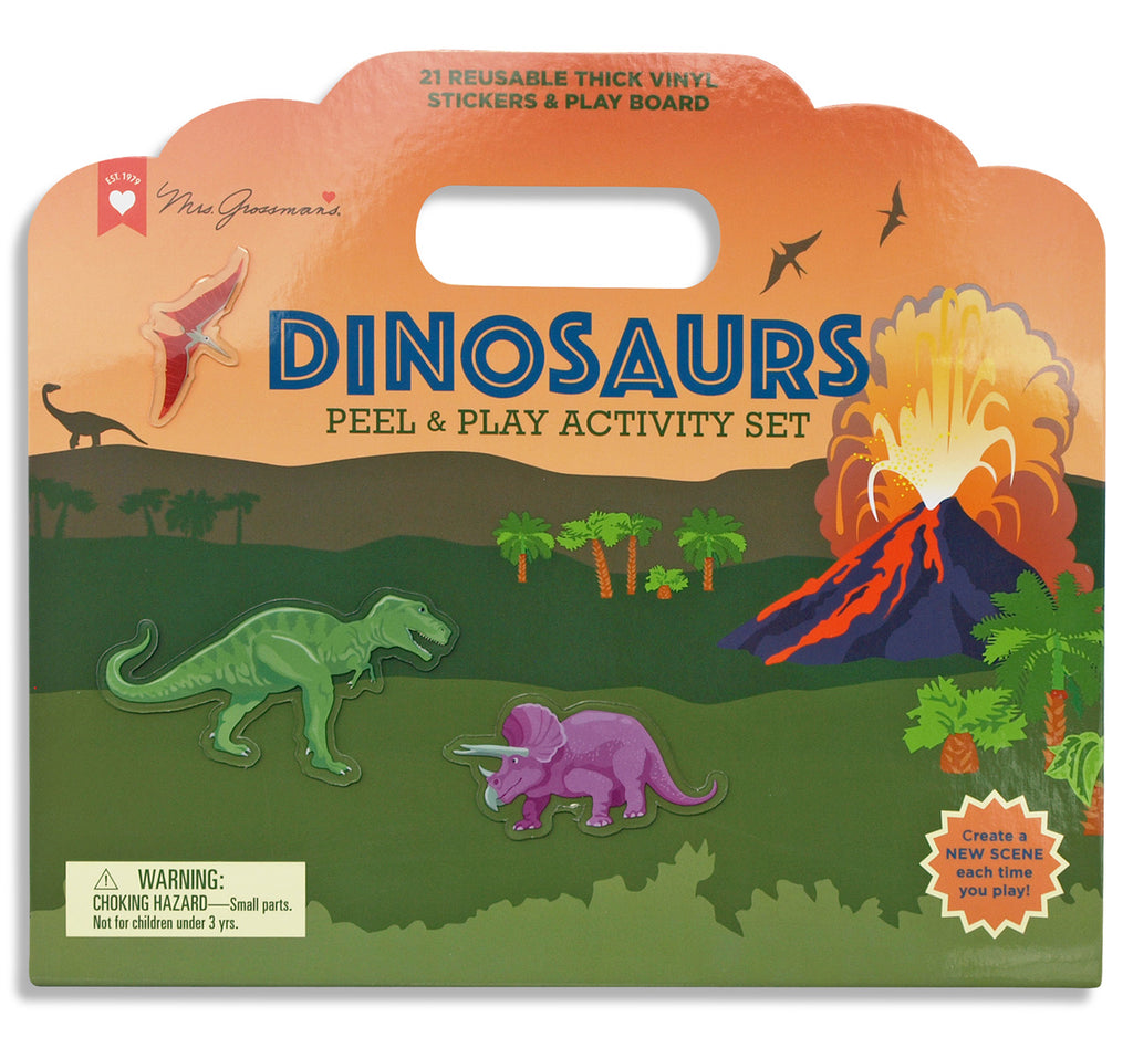 Dinosaurs Peel and Play Activity Set - Mrs. Grossman's